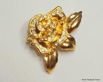 Vintage Avon Rose Passion Pin                     M