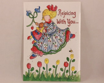 NEW! Vintage Dayspring Encouragement Greeting Card and Envelope.