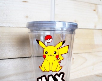 Personalized Pokemon Tumbler