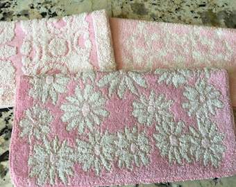 New Old Stock Vintage PINK Washcloths