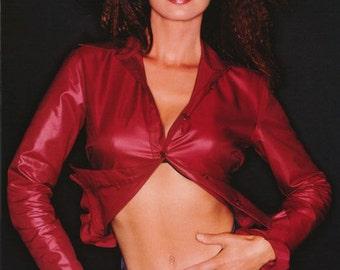 Shania Twain Red Top Rare Poster