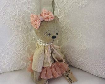Bear Caroli - artist teddy bear, teddy bear OOAK, artist bear