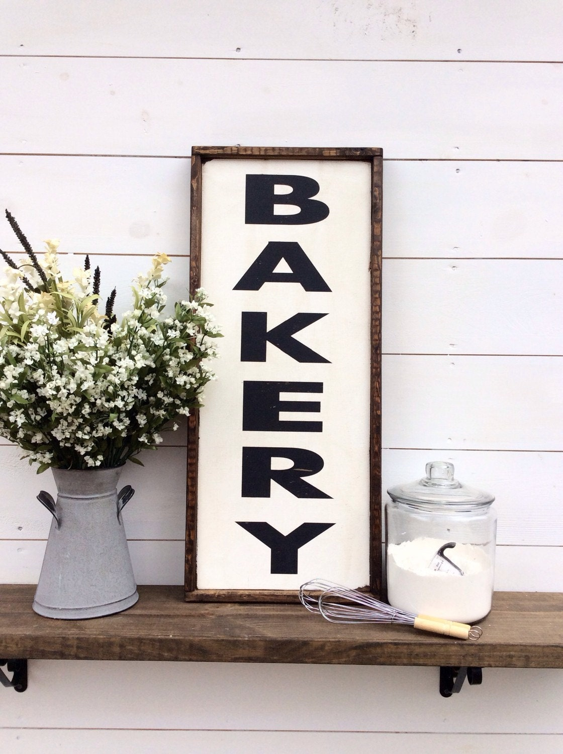 bakery wood sign kitchen sign custom colors available