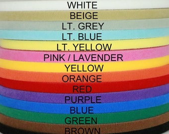 "Ultra thin VELCRO® brand double sided hook & loop tape 25 yards 3/8'', 1/2"", 5/8"", 3/4"", 1"", 1 1/2"" wide for doll clothes and dresses"