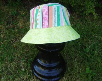 Reversible sun hat, age 3-5 years (52 cm, 20.5 inches)