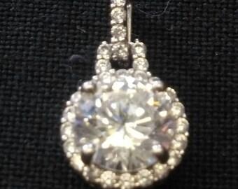Sterling Crystal Pendant