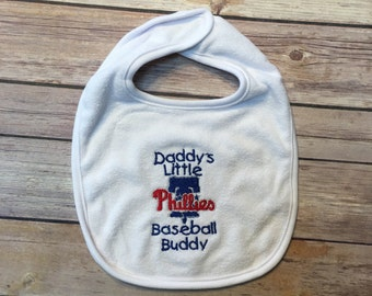 Daddy's Little baseball buddy with PHILLIES
