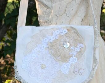 OOAK Handmade Victorian Shabby Chic Shoulderbag