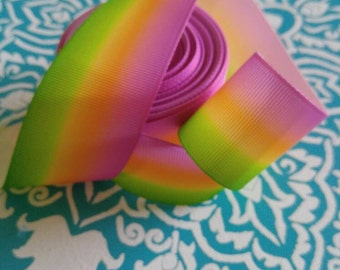 Rainbow Ribbon,1-1/2 Ribbon, Grosgrain Ribbon, Bow Making Ribbon, Bow Supplies