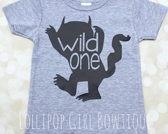 Wild One Tshirt// Onesie// Birthday Shirt