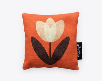 Tulip Lavender Bag in Orange