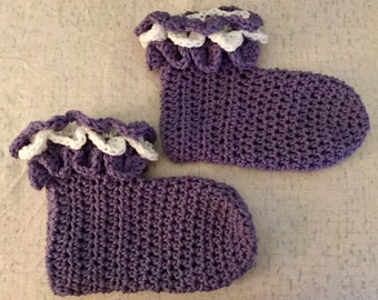 Slipper Sock Booties