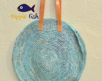 Round Straw bag, market bag, Straw Beach bag, raffia bag, straw bag, Tote, beach bag, handbag, market bag, crochet bag, rattan bag, gift