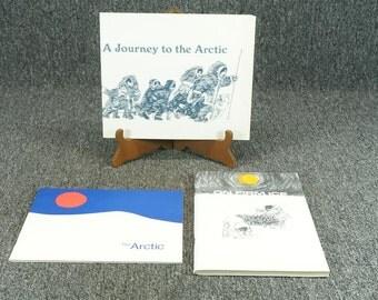 Lot Of 3 Books On Eskimos