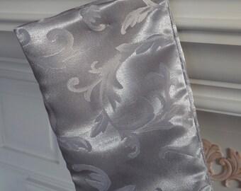 Silver Christmas Stocking