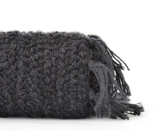 Medium Woven Cotton Rug