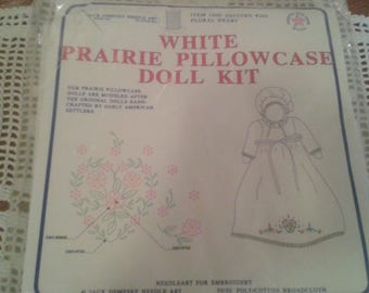 Jack Dempsey Prairie Pillowcase Doll Kit