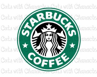 Starbucks layered svg pack SVG DXF and PNG Files for Cutting Machines Silhouette, Cricut or Scan 'N' Cut