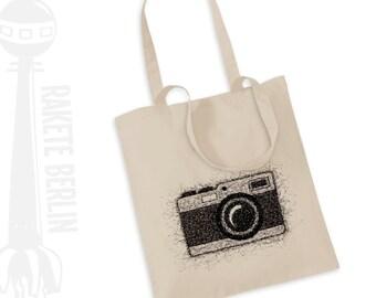 Tote Bag   ' Camera - drawing '