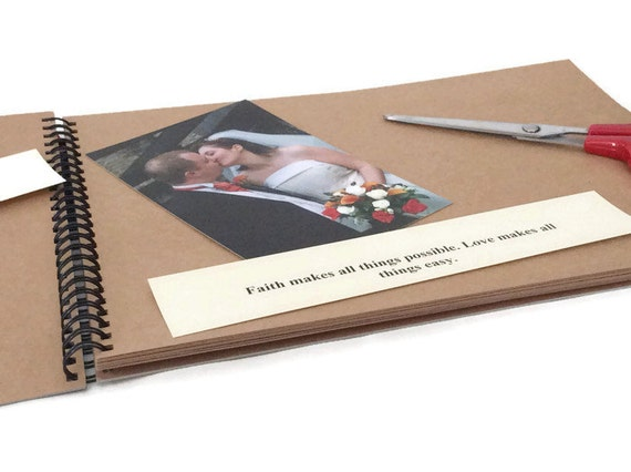First year together anniversary scrapbook our