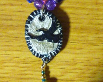 Custom carved necklace