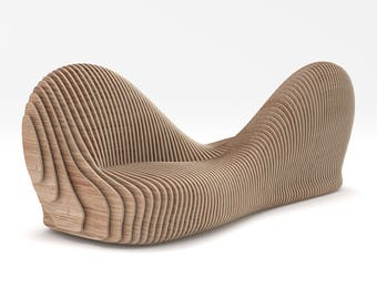 Sylva - CNC Cut Parametric Bench