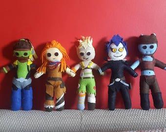 Handmade Plush Characters