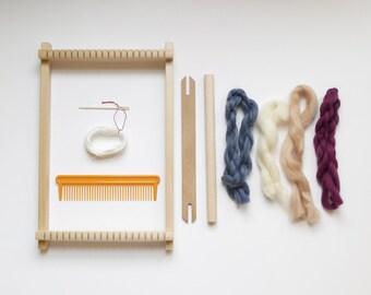 Kit de tissage - Débutant - Métier à tisser