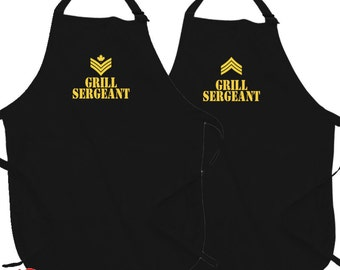 Grill Sergeant (Canadian)(American)(Apron)
