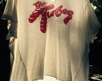 Vintage 70's 'Tubes' band tee ...