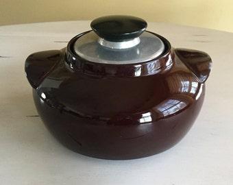 Mid Century Modern Hall Bean Pot