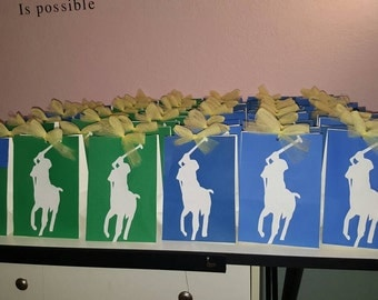 12 Polo Candy bags