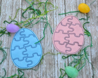 5 bunny party favor bag easter treat bag party gift bag egg puzzle felt puzzle easter gift puzzle felt easter gift negle Images