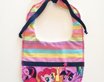 My Little Pony baby bib pattern