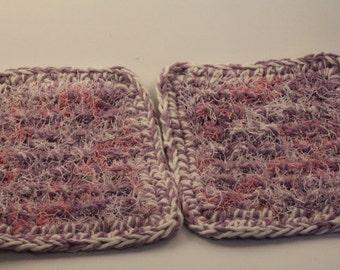 Dishcloth, scrubby, nubby, crochet dishcloth, dishcloths, cotton polyester dishcloth