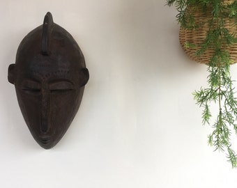 Vintage wooden carved wall decor