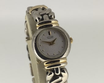 Gold and Steel Ladies' Dress Watch by Citizen. Japan movement. 866227.