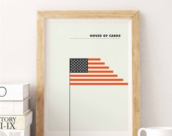 House of cards. Design inspired in the series of television played by Kevin Spacey.