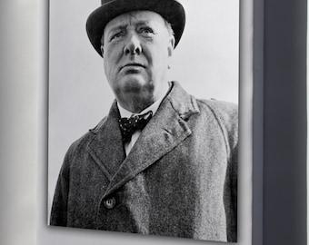 Canvas 24x36; Sir Winston Churchill P2