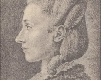 16x24 Poster; Goethe Frauenbildnis, Stein, Charlotte Von Wahrscheinlich.Jpeg_Files