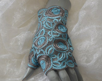 Clearance - 25% lace wedding, cocktail cuffs fingerless gloves French lace