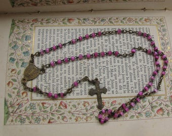 Tiny Vintage Baby Rosary