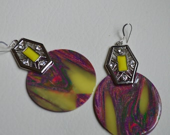 Clay Fusion Collection earrings