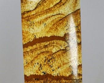 Natural Picture Jasper Pendant Rectangular shape. 49x29x9 mm. 127.45 Cts.