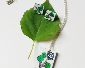Parure Necklace Nature and Creativity