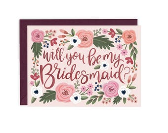 Will You Be My Bridesmaid (Maid / Matron of Honor) - Card