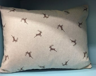 Cushion, Stag, Christmas Cushion, Christmas Gift, Home Decor, Decorative Pillow