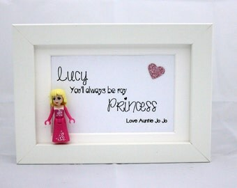 Minifigure Princess Frame