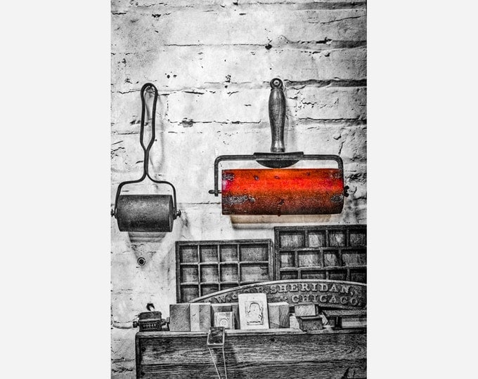 HAMILTON TYPE MUSEUM | modern fine art photography blank note cards custom books interior wall decor affordable pictures –Rick Graves