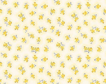 Lily by Penny Rose Fabrics C5932 Yellow